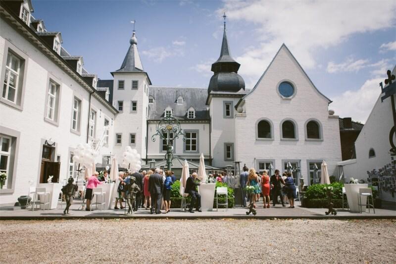 trouwfeest locatie voor bruiloft met dj Kasteel Doenrade
